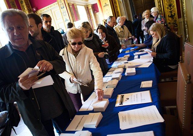 法國議會第二輪選舉開始