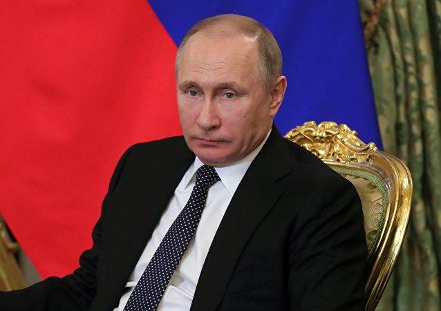 普京簽署法律 批准歐委會關於資助恐怖主義問題的公約