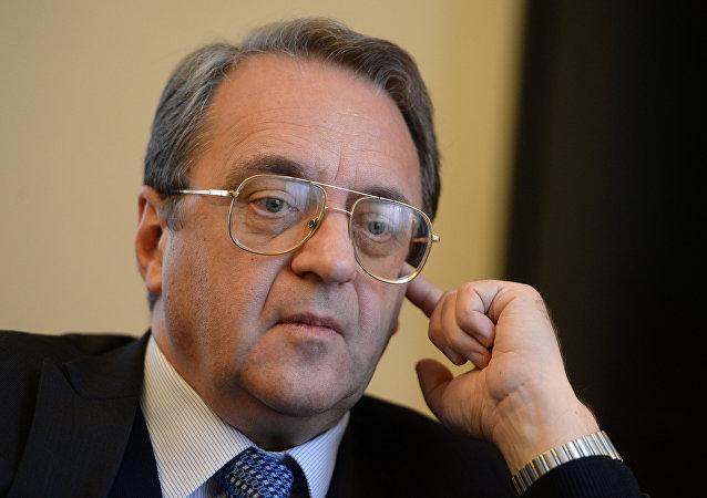 俄羅斯外交部副部長根納季·加季洛夫稱