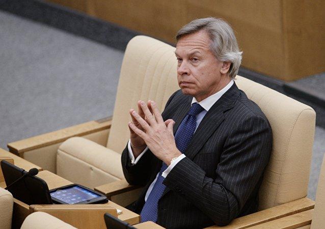 俄罗斯联邦委员会议员阿列克谢∙普什科夫