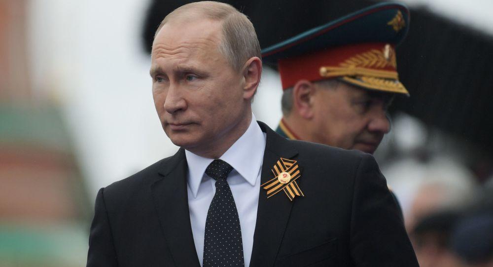 普京:苏联反法西斯战争胜利将永载人类史册