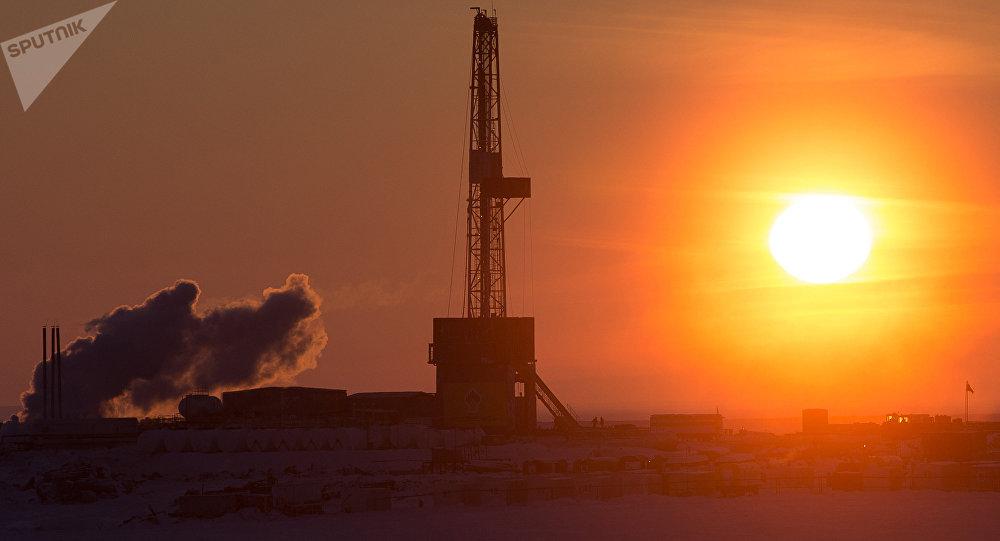 石油天然氣開採的鑽井平台