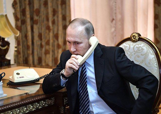普京在諾曼底模式會談上指出基輔不履行明斯克協議