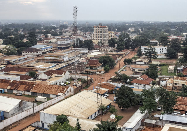 中非共和國的首都班吉