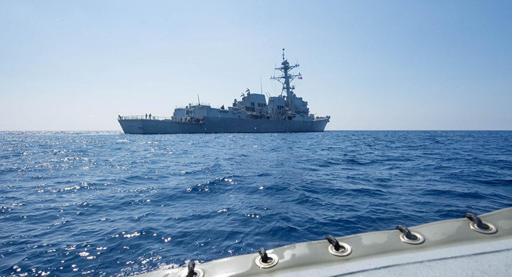 英法军舰南海航行是在跟进美国 但打错算盘