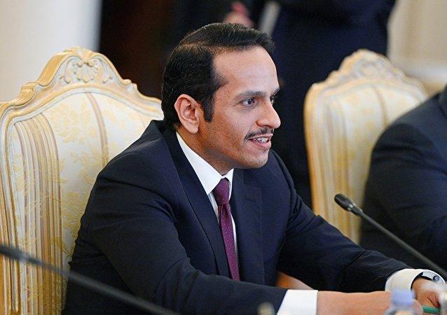 卡塔爾外交大臣穆罕默德