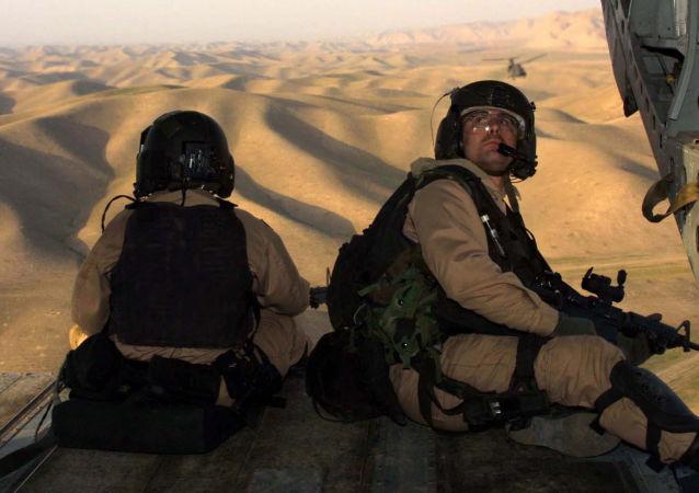 路透社:阿富汗警察在美國空襲中死亡
