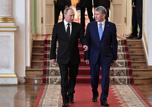 普京:俄羅斯在吉爾吉斯斯坦的軍事基地保障中亞地區的安全
