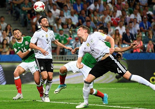 联合会杯半决赛:德国4-1大胜墨西哥