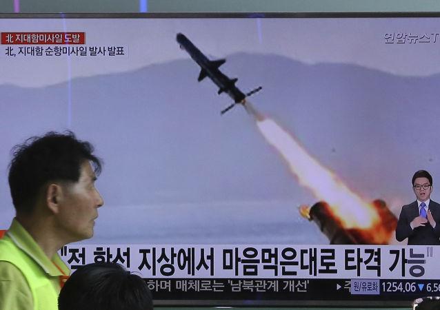 外媒:美国不高兴中俄联手处理朝鲜危机
