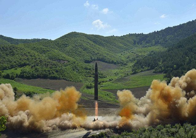 朝鮮打算發展核武直至準備對美國發動大規模打擊