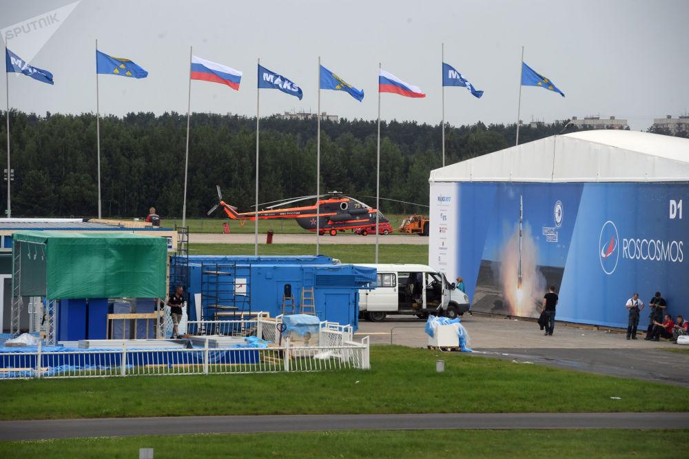 备战2017年俄罗斯国际航空航天展览会(MAKS)。