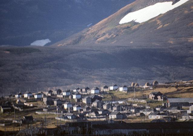 北库里尔斯克市(帕拉穆希尔岛)