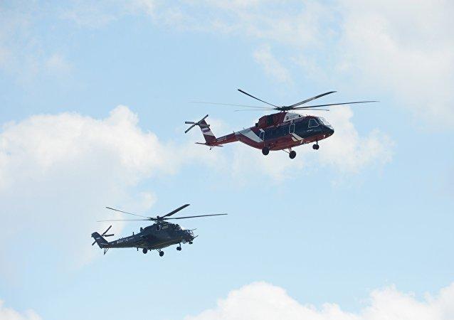 俄直升機公司計劃在莫斯科航展期間與國內外客戶簽署協議