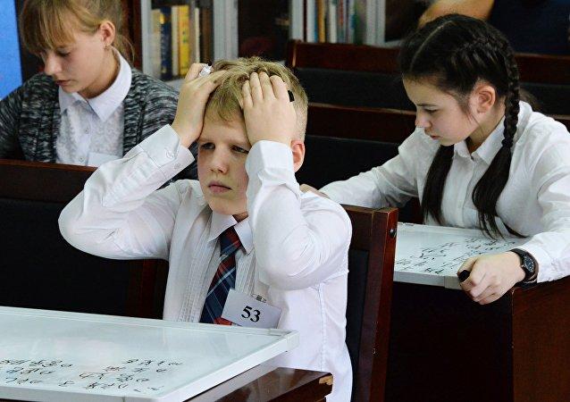 超過70%的俄羅斯青少年承認不喜歡上學