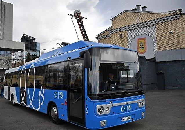 莫斯科公交车的所有传媒设备自28日起停止播放