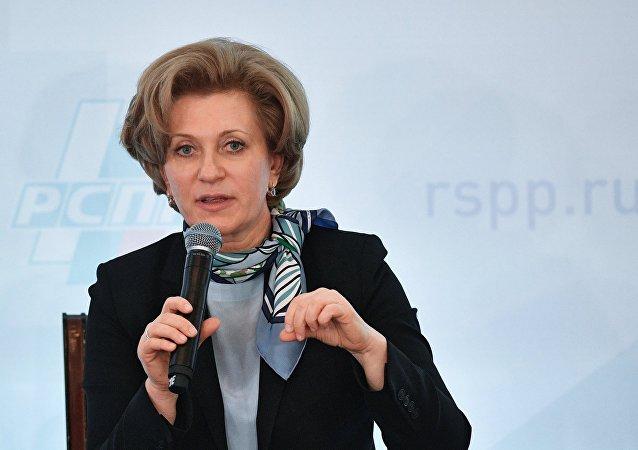 俄联邦消费者权益保护和公益监督局局长安娜•波波娃