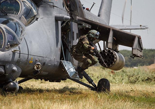 俄中蒙边防军首次在后贝加尔斯克举行大型联合反恐演习