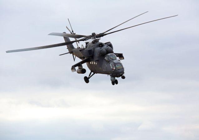 塞尔维亚国防部期待于今年底或明年初从俄获得七架直升机