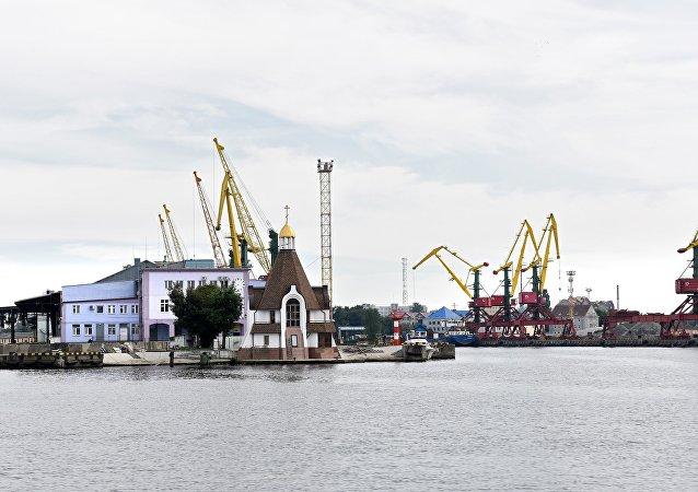 俄罗斯加里宁格勒港