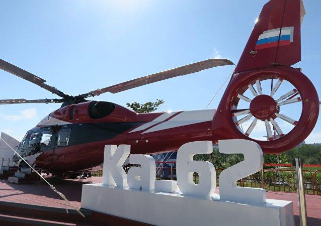 俄「進步」航空公司:卡-62直升機的全球需求量約為400架