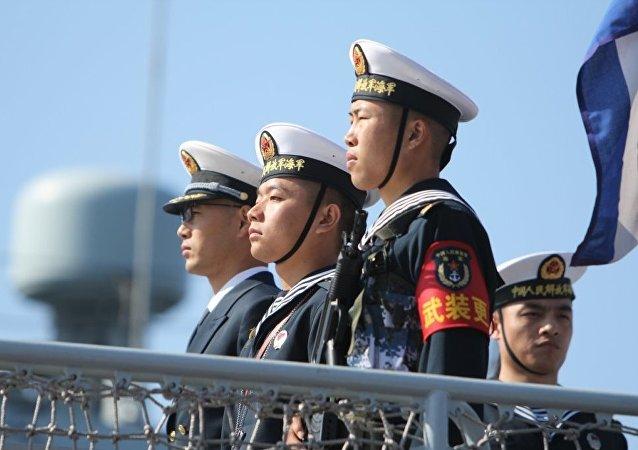 中國海軍參賽隊抵達俄羅斯將參加「海上登陸」項目比賽