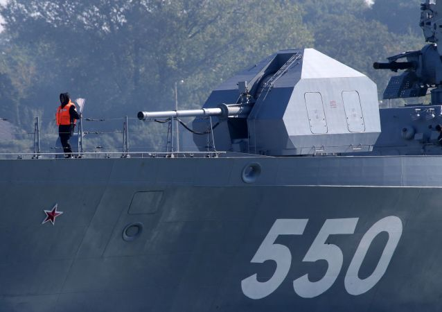 俄羅斯將對海軍隱身護衛艦進行升級改造