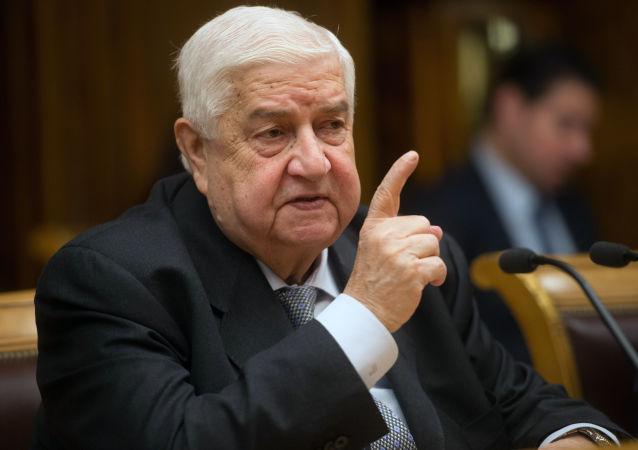 敘利亞外長:朝鮮願意為敘重建出力
