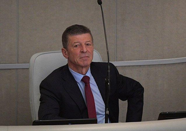 俄羅斯副總理德米特里·科扎克