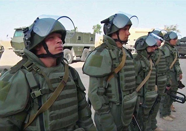 俄工兵在敘代爾祖爾數天內拆除數千枚地雷