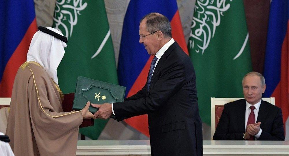 俄外长:俄沙两国将在航天核能领域开展合作