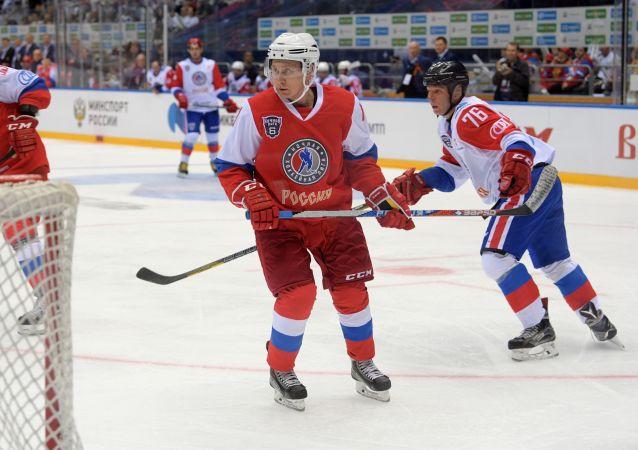 普京或在世錦賽後與俄國家冰球隊打球