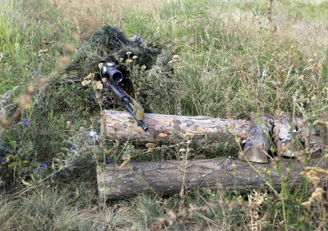 乌克兰的狙击手