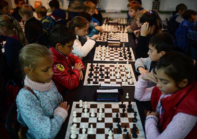俄中國際象棋循環賽在阿爾泰開賽