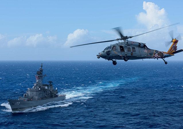 MH-60S直升机 资料图