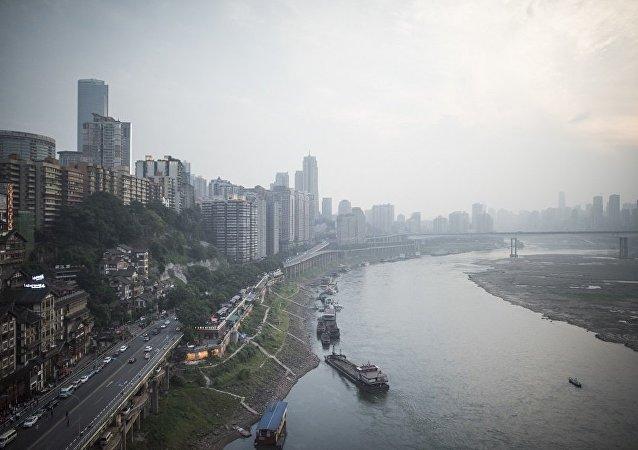 重庆将现水平摩天大楼