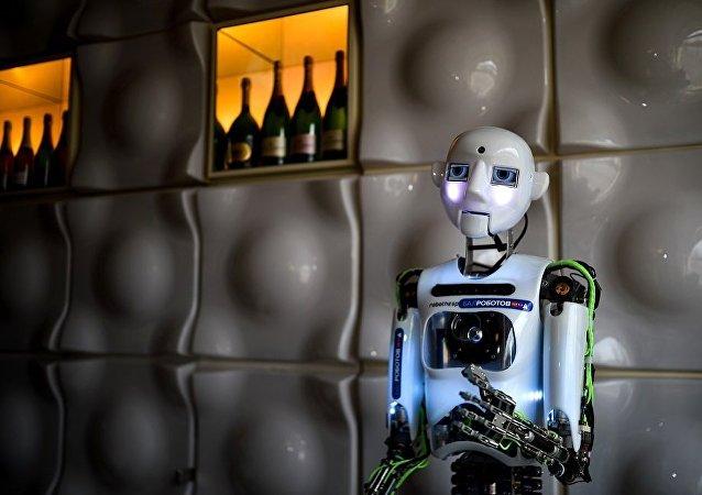 仿生機器人RoboThespian(資料圖片)