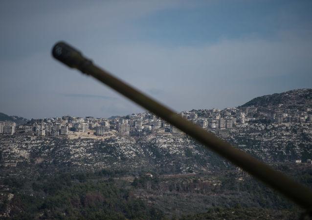 敘利亞軍方截獲大批供應給伊德利卜恐怖分子的武器