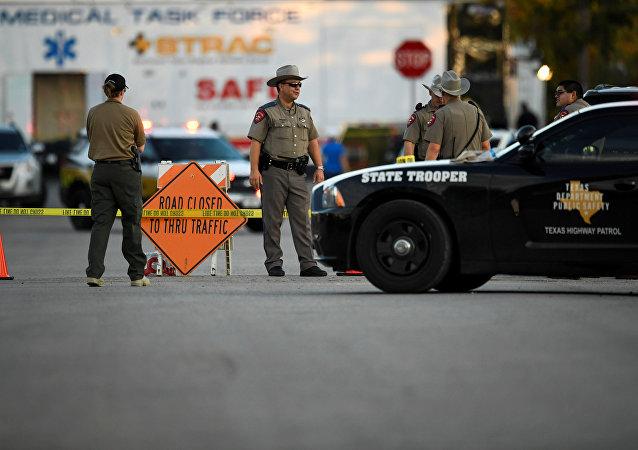 美国德州枪击案(资料图片)