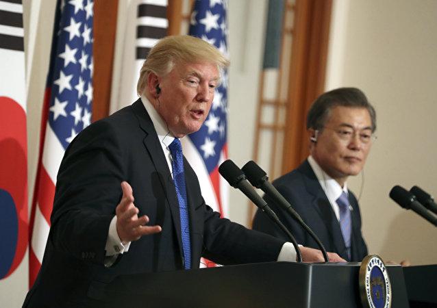 特朗普将于6月29日至30日对韩国进行正式访问