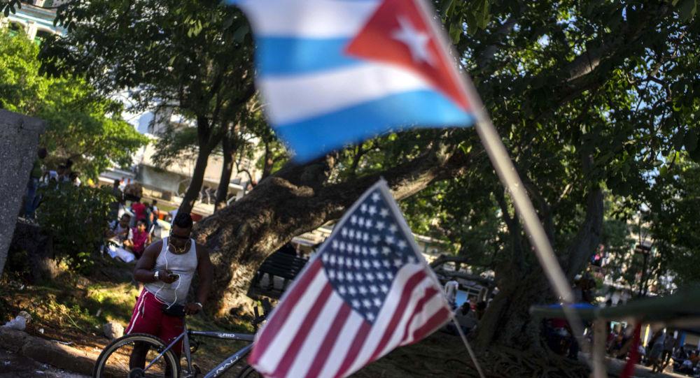 古巴外长:美国需要对古巴警察的制裁来为封锁该国开脱