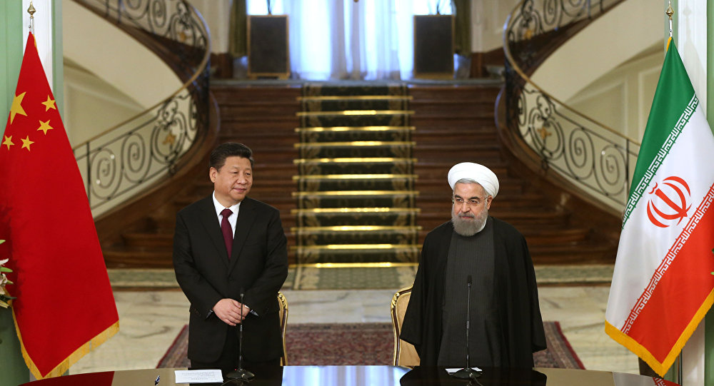 中國幫助伊朗應對美國制裁