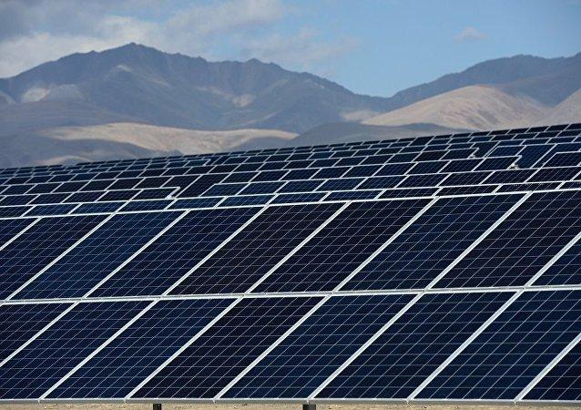 太阳能电站(资料图片)