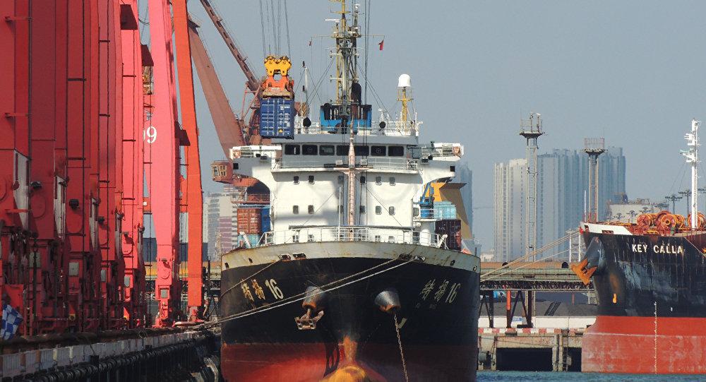 中國在全球海運中的角色日趨重要
