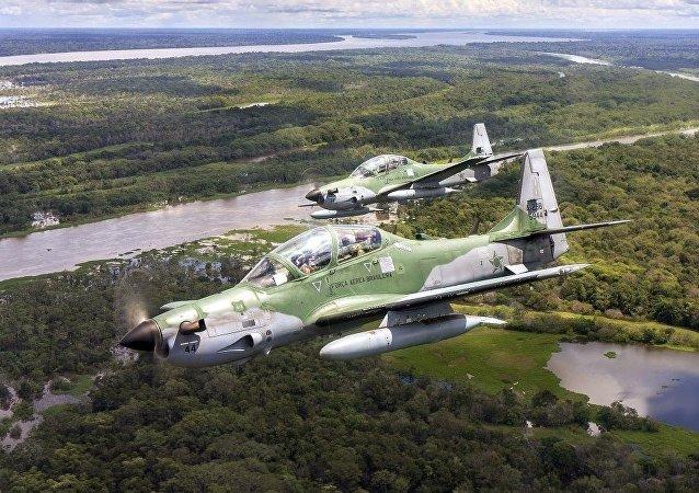 飛機A-29超級巨嘴鳥(Super Tucano)