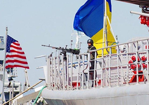 """俄国防部:北约将以""""海风""""演习为幌子向乌克兰提供武器"""