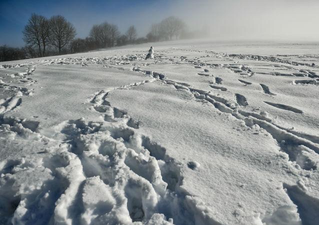 西班牙50多條公路因降雪被封
