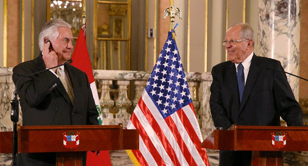 美国与中国争夺在拉美影响力