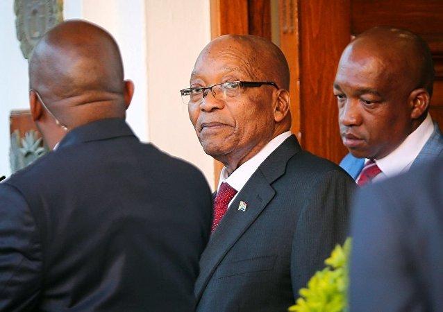 南非共和国总统祖马
