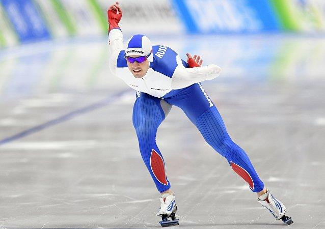 俄羅斯速滑選手獲得世界杯團體賽冠軍